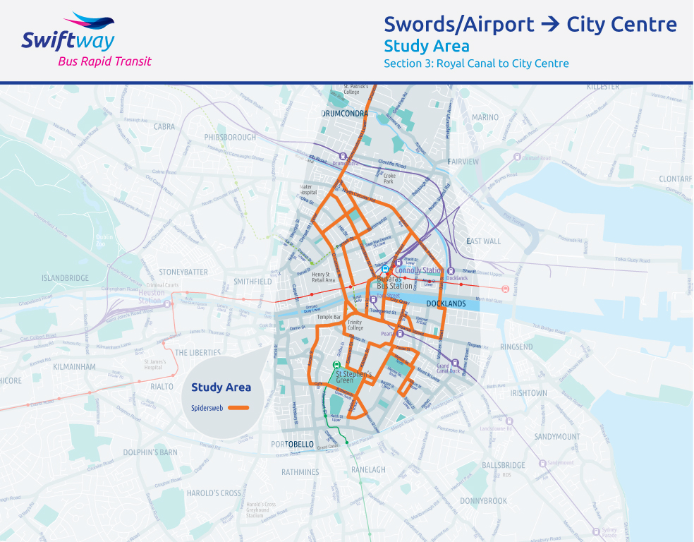 Swords_to_City_Centre_Maps_-_Study_Area_-_Section_3