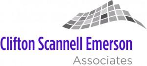 Clifton Scannell Emerson Associates logo