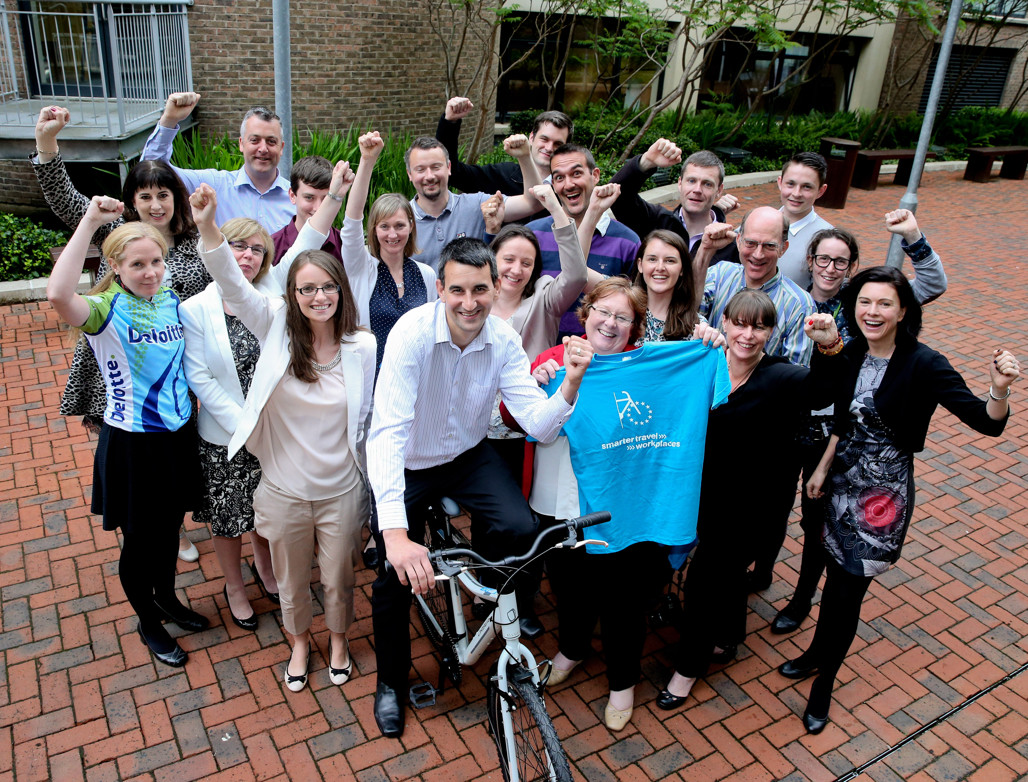 Lucky for some! Dublin cyclists come 13th in the European Cycling Challenge