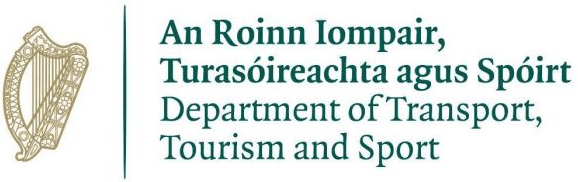 Department of Transport, Tourism & Sport logo