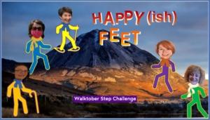 Photo competition winner - Happy(ish) Feet