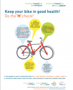 Bicycle maintenance poster